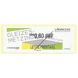 FRANCIA (2012).  Gleizes-Metzinger. Etiqueta TEST