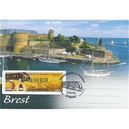 FRANCIA (2012). Fête mer et marins - Brest. Sobre P.D. (PRIOR)