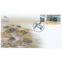 ISRAEL (2012). Tortuga verde - 001. Sobre primer día