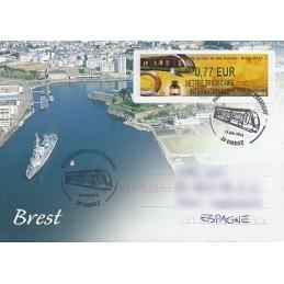 FRANCIA (2012). Fête mer et marins - Brest. Sobre P.D. (España)
