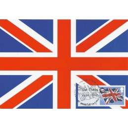 R. UNIDO (2012). Union flag. Tarjeta máxima