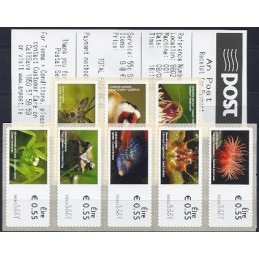 IRLANDA (2011). Animales (2) - 9802001. ATMs nuevos (8 x 0.55 EU