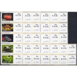 IRLANDA (2011). Animales (2) - 9801001. Serie 32 val. + r. (2012
