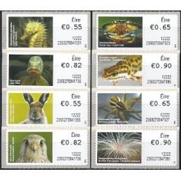 IRLANDA (2012). Animales (3) - 235027. Serie  8 val. (1r. día)