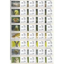 IRLANDA (2012). Animales (3) - 235027. Serie 32 val. (1r. día)