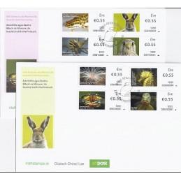IRLANDA (2012). Animales (3) - 02501. Sobres primer día