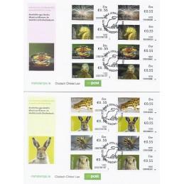 IRLANDA (2012). Animales (3) - 02501 + 235027. Sobres (1r. día)