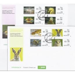 IRLANDA (2012). Animales (3) - 235027. Sobres primer día