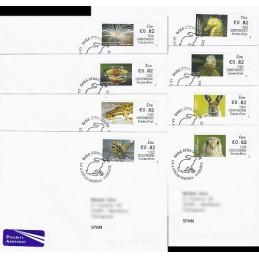 IRLANDA (2012). Animales (3) - 235027. Sobres P.D. España