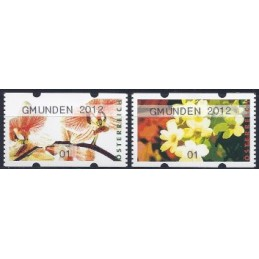 AUSTRIA (2012). GMUNDEN 2012 (Flores 4). ATMs nuevos (01)