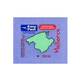 ESPAÑA (2011). Easy Post - Mallorca (1). Etiqueta prepago
