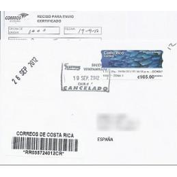 COSTA RICA (2012). Golfo Papagayo - Datamax. Sobre España CERT.