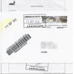 COSTA RICA (2012). Volcán Irazú - Datamax. Sobre España CERT.