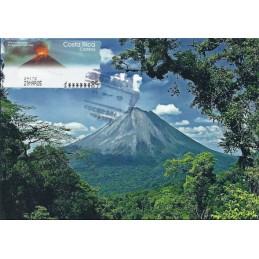 COSTA RICA (2004). Volcán Arenal. Tarjeta máxima