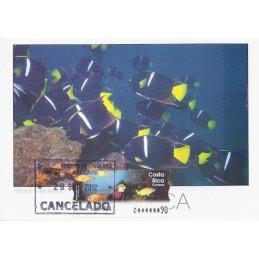 COSTA RICA (2004). Isla del Coco. Tarjeta máxima