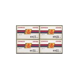 ESPAÑA. 4.3.2. Emblema postal - FNMT. PTS-4 Mobba. Serie 4 v. (2