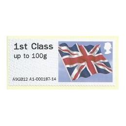 R. UNIDO (2012). Union flag - STAMPEX A9GB12 A1. ATM nuevo