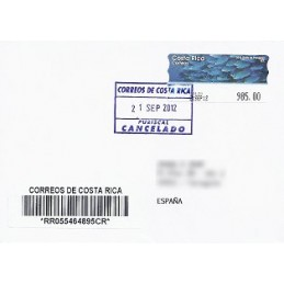 COSTA RICA (2012). Golfo Papagayo - Epelsa. Sobre España CERT.