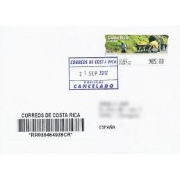 COSTA RICA (2012). Boyero - Epelsa. Sobre España CERT.