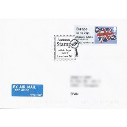 R. UNIDO (2012). Union flag (Diamond J) - A9GB12 A2. Sobre P.D.