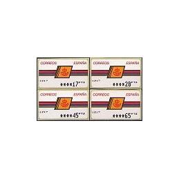 ESPAÑA. 4.2.2. Emblema postal - OVELAR. PTS-6A. Serie 4 val. (2)