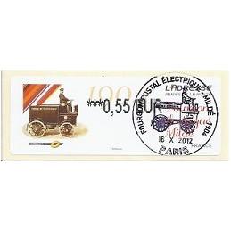FRANCIA (2012). Adresse - Fourgon Mildé. ATM (0,55), mat. P.D.