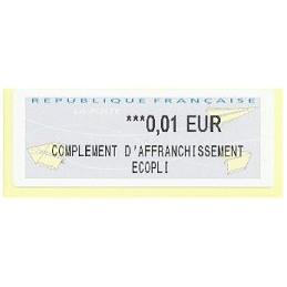 FRANCIA (2012). Aviones papel - IER NABUCCO. ATM nuevo (0,01 EC)