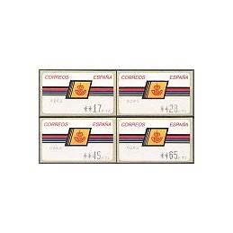 ESPAÑA. 4.1.2. Emblema postal - ALBENIZ. PTS-CB4. Serie 4 v. (2a