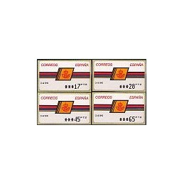ESPAÑA. 4.2.2. Emblema postal - OVELAR. PTS-5A. Serie 4 val. (2)