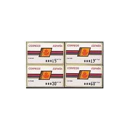 ESPAÑA. 4.2.2. Emblema postal - OVELAR. PTS-5A. Serie 4 val. (3)