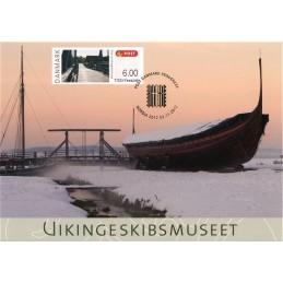 DINAMARCA (2012). NORDIA 2012 Roskilde. Tarjeta máxima (puente)
