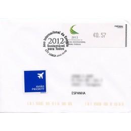 PORTUGAL (2012).  Energia - CROUZET negro. Sobre P.D. (España)