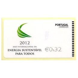 PORTUGAL (2012). Energia - NEWVISION negro. ATM nuevo