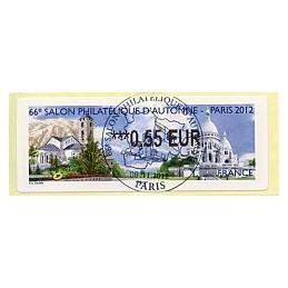 FRANCIA (2012). 66 Salon - Andorra - LISA 2. ATM, mat. P.D.