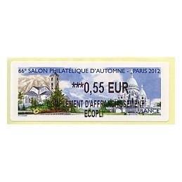 FRANCIA (2012). 66 Salon - Andorra - LISA 2. ATM nuevo (0,55 CA)