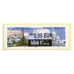 FRANCIA (2012). 66 Salon - Andorra - LISA 2. ATM nuevo (0,55 MM)