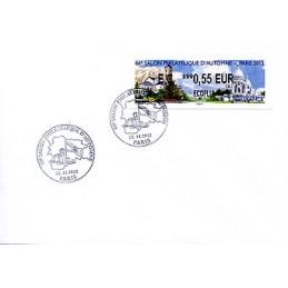 FRANCIA (2012). 66 Salon - Andorra - LISA 2. Sobre P.D. (EC)