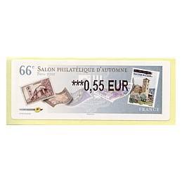 FRANCIA (2012). 66 Salon - Sellos - LISA 2.  ATM nuevo (0,55)