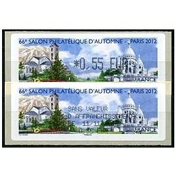 FRANCIA (2012). 66 Salon - Andorra - LISA 1. ATM (0,55) + rec.