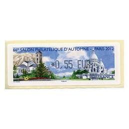 FRANCIA (2012). 66 Salon - Andorra - LISA 1. ATM nuevo (0,55)