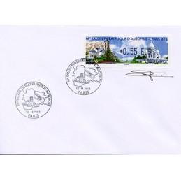 FRANCIA (2012). 66 Salon - Andorra - LISA 1. Sobre P.D. (firmado