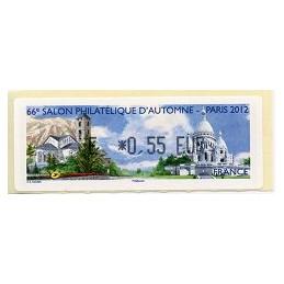 FRANCIA (2012). 66 Salon - Andorra - LISA 1. ATM nuevo (E 0,55)