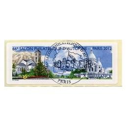 FRANCIA (2012). 66 Salon - Andorra - LISA 1. ATM, mat. P.D.