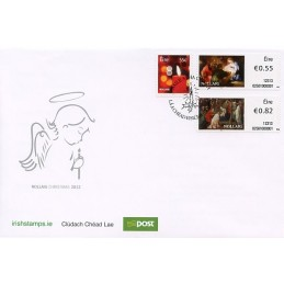 IRLANDA (2012). Navidad - 02501. Sobre primer día