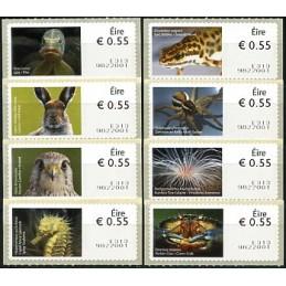 IRLANDA (2012). Animales (3) - Quiosco 9822001. ATMs nuevos