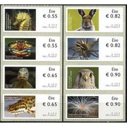 IRLANDA (2012). Animales (3) - Quiosco 9825001. Serie  8 val.