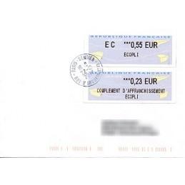 FRANCIA (2012). Aviones papel - IER NABUCCO. Sobre (complement)