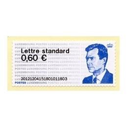 LUXEMBURGO (2012). Gran-Duc Henri - 01. ATM nuevo (primer día)