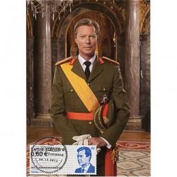 LUXEMBURGO (2012). Gran-Duc Henri - 40. Tarjeta máxima