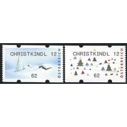 AUSTRIA (2012). CHRISTKINDL 12 (Inv. 5). ATMs nuevos (62)
